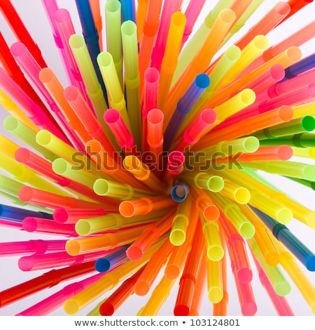 kleur · flexibele · achtergrond · oranje · groene · drinken - stockfoto © ozaiachin