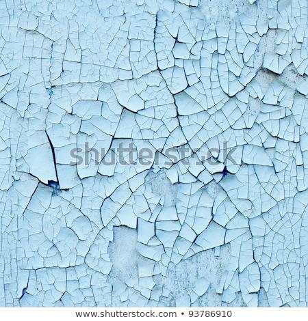 szczegół · pęknięty · farby · ściany · zardzewiałe - zdjęcia stock © tashatuvango