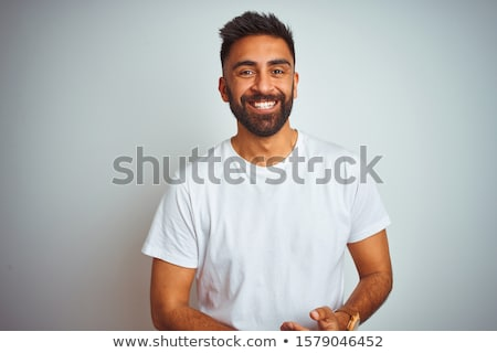 Stock fotó: Portré · indiai · férfi · fiatalember · üzletember · fiú
