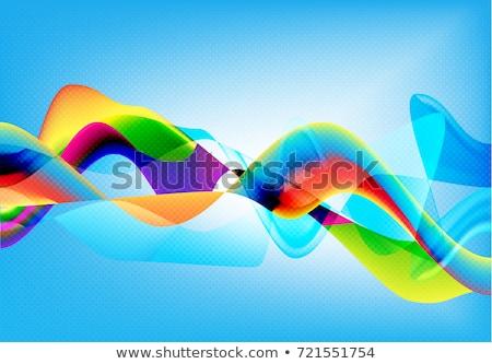 couleur · plein · forme · résumé · design · bleu - photo stock © jaggat_rashidi