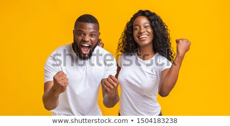 Man rejoices win Stock photo © a2bb5s