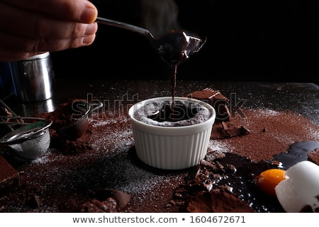 Chocolate Souffle Stock photo © raptorcaptor
