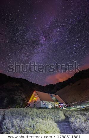 yushan star trails stock photo © elwynn