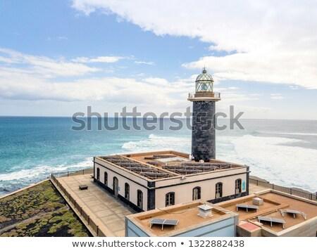 Punta de Jandia beacon in Fuerteventura, Canary Islands, Spain Stock photo © nito