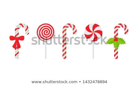Noel · yalıtılmış · beyaz · gıda · şeker · kutlama - stok fotoğraf © limpido