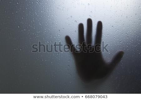 Ijesztő szörny sötét szoba nő szexi Stock fotó © Elnur