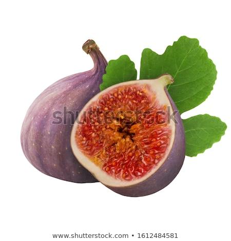 инжир · фрукты · изолированный · белый · экзотический · зеленый - Сток-фото © escander81
