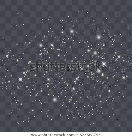 Magic sparkle, light dots; vector bokeh effect Stock photo © wenani