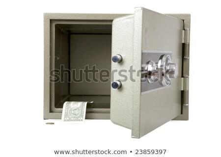 Vide sûr dollar isolé blanche sécurité Photo stock © jonnysek