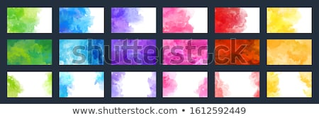 watercolor background of different colors Stock photo © nito