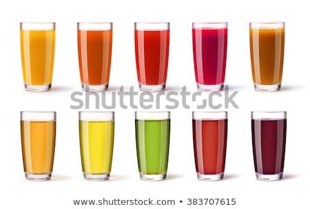 Pomegranate fruit juice in glass Stock photo © natika