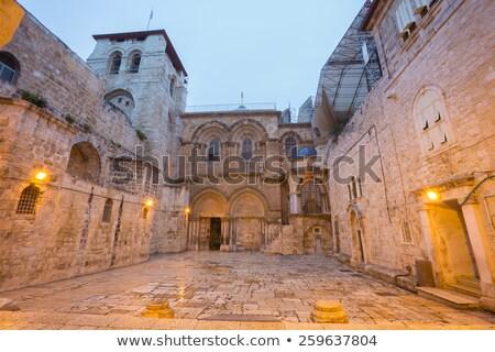 kilise · Kudüs · İsrail · İsa - stok fotoğraf © sarkao