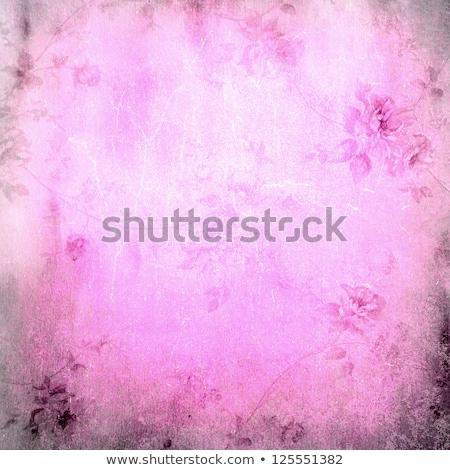 Alto dettagliato grunge abstract floreale collage Foto d'archivio © Lizard
