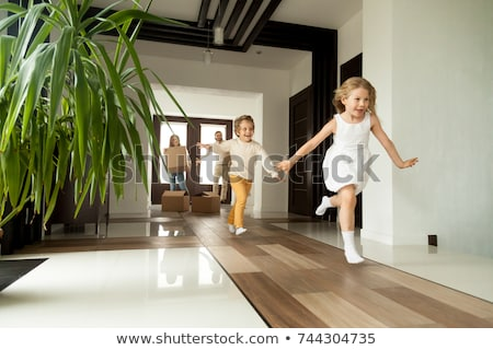 young couple in luxury home interior stock photo © nejron