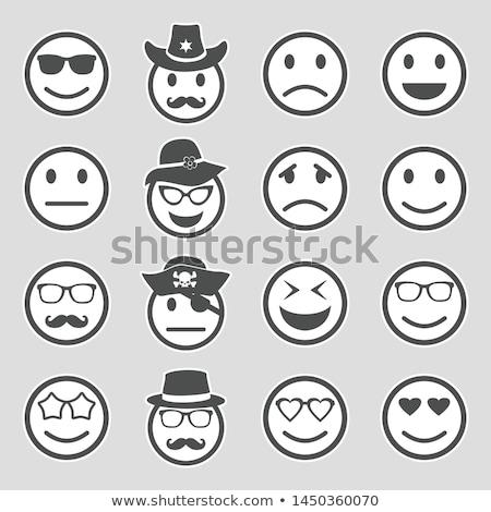 Stock photo: pirate smiley