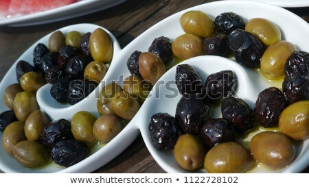 salad buffet of pickles and olives Stock photo © godfer