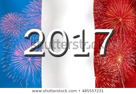 Flag burning - France Stock photo © michaklootwijk