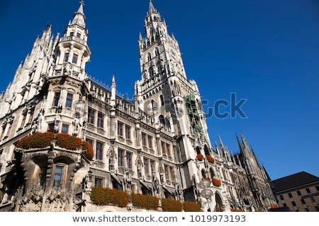 new town hall in munich stock photo © vwalakte