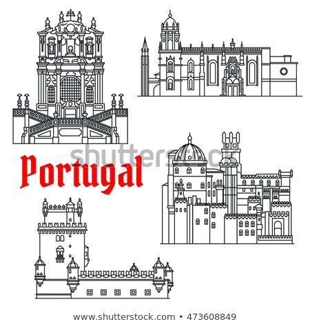 塔 リスボン 市 ポルトガル ランドマーク アーキテクチャ ストックフォト © tony4urban