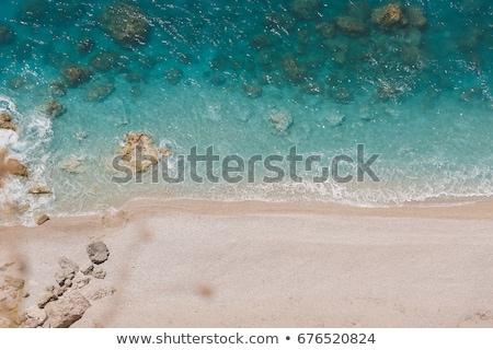 waves crashing on a rocky coast stock photo © backyard-photography