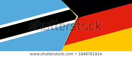 germany and botswana flags stock photo © istanbul2009