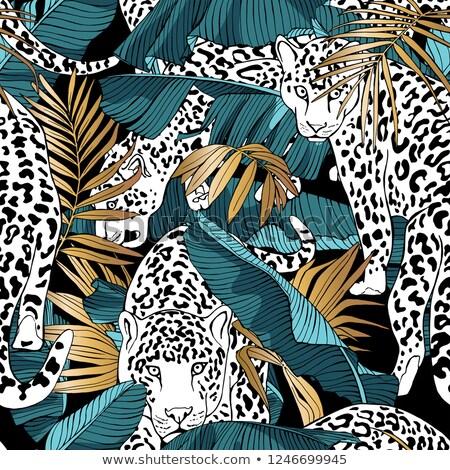 Fern frond seamless pattern Stock photo © gladiolus