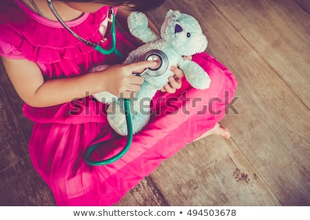 child with stethoscope stock photo © Paha_L