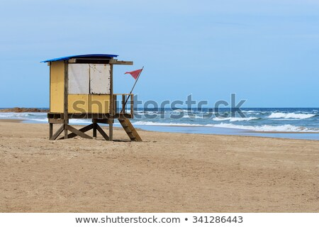 Tengerpart Uruguay sziluett dél-amerika víz tenger Stock fotó © fotoquique