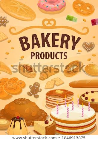 ürünleri · ekmek · pasta - stok fotoğraf © digifoodstock