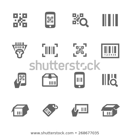 Set of bar codes and qr codes with labels Stock photo © Winner