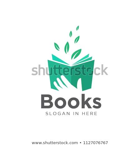 книга · трава · страница · бумаги · образование · зеленый - Сток-фото © imaginative