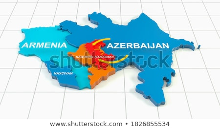 3D rendering of Geography of war Stock photo © alphaspirit