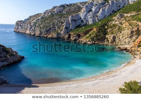 Javea Xabia Cala Blanca beach in Alicante Spain Stock photo © lunamarina