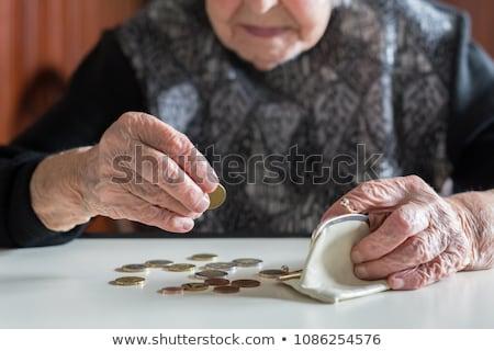 Stock photo: Poor elderly people