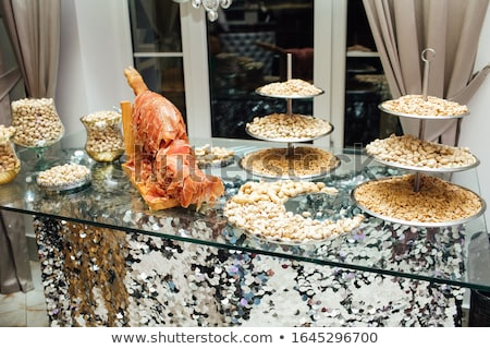 Exquisite selection of luxury appetizer Stock photo © Klinker