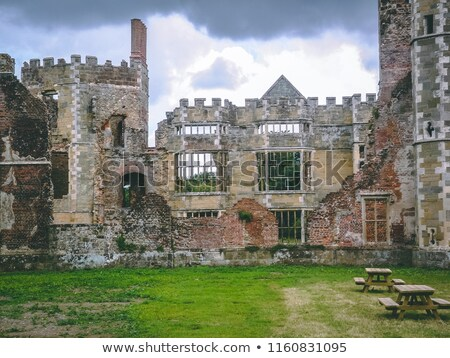 Château ruines ouest sussex Angleterre romantique Photo stock © fenton