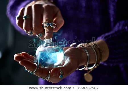 A witch using a spell Stock photo © bluering