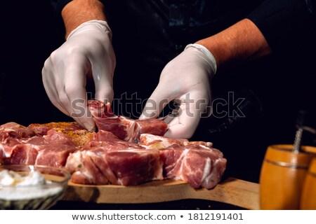 Marinated meat Stock photo © Digifoodstock