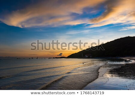 Sun over the sea Stock photo © FotoVika
