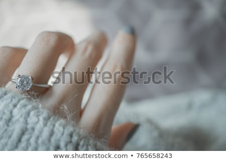 ring for beautiful woman Stock photo © ssuaphoto