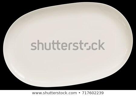 глубокий · овальный · блюдо · Бейкер - Сток-фото © digifoodstock