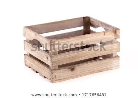 Empty wooden crate Stock photo © Digifoodstock