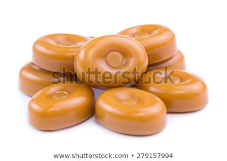 Caramelo branco comida doce Foto stock © Digifoodstock