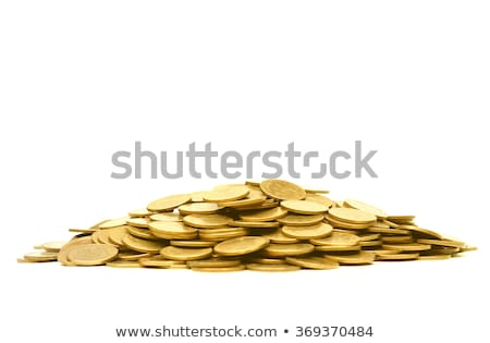 Golden coins pile Stock photo © pakete