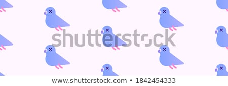 vector flat style illustration of christmas winter city stock photo © curiosity