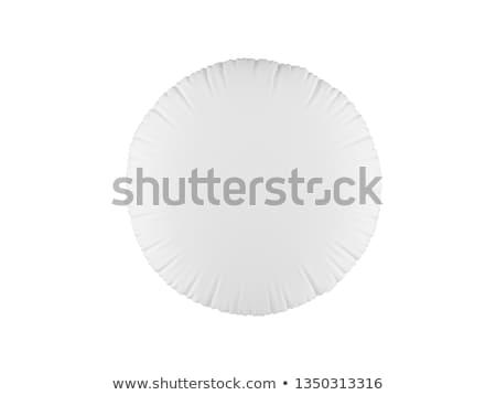 枕 孤立した 実例 家具 白 パターン ストックフォト © NikoDzhi
