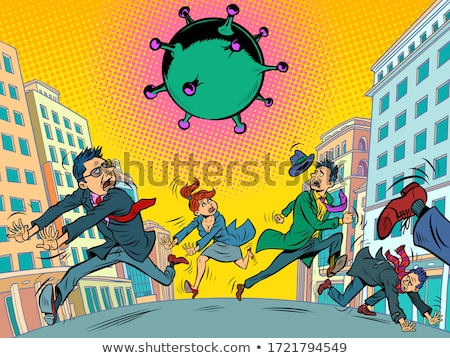 People Panicking Stock photo © cteconsulting