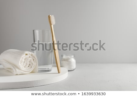 toothbrush and water stock photo © devon