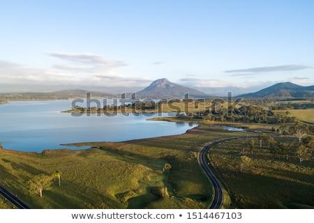 湖 · クイーンズランド州 · 空 · 自然 · 風景 - ストックフォト © artistrobd