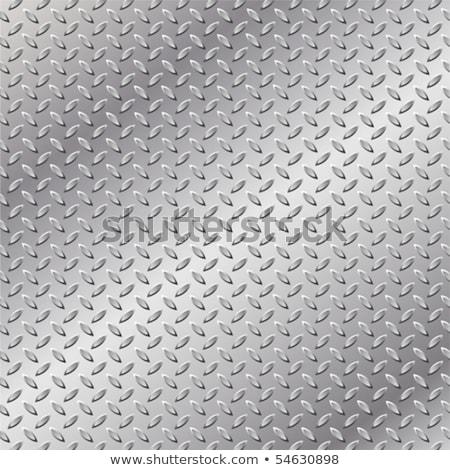 Ezüst fém közelkép lövés ipar tányér Stock fotó © devon